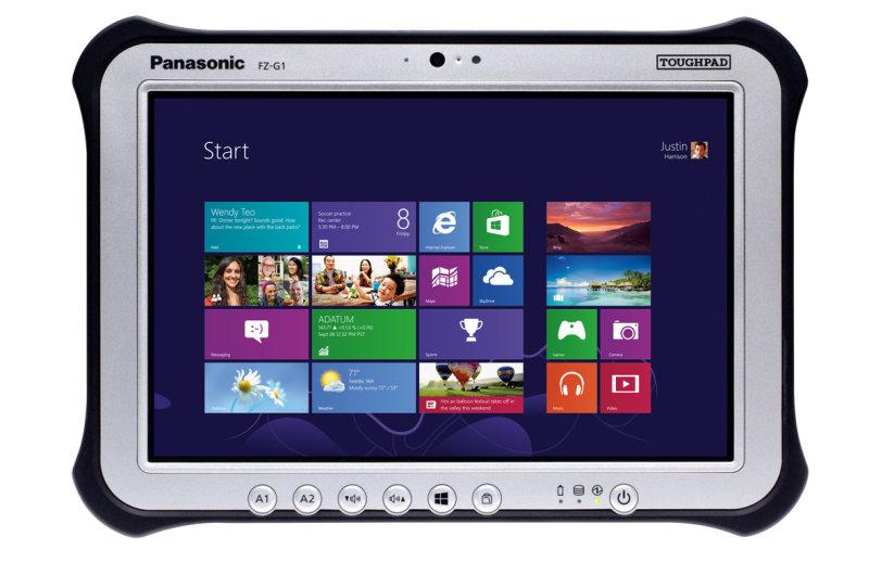 """Panasonic FZ-G1 MK4 10.1"""" i5-6300 4GB, 128GB 4G Windows 10 Pro Tablet"""