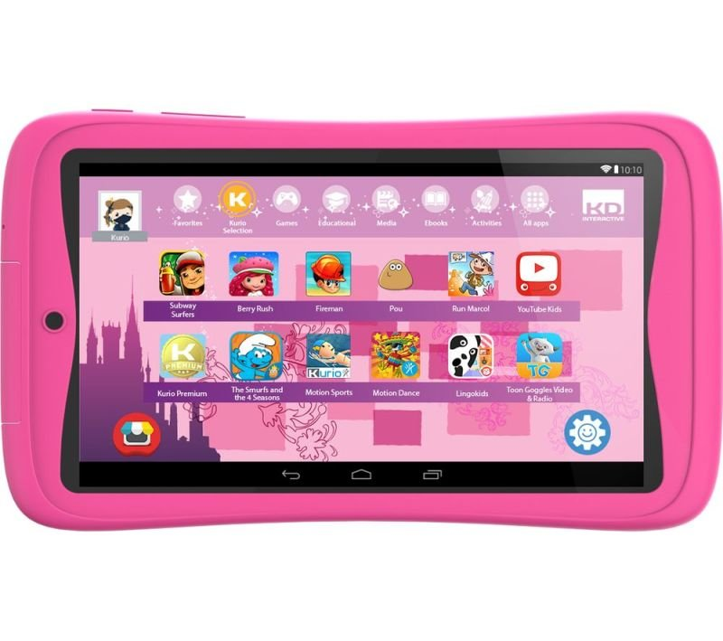 Image of Kurio Tab Connect Kids 7 Inch 16GB Tablet - Pink