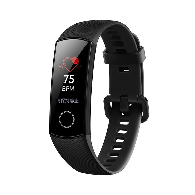 Honor Band 4 Fitness Band with HR Monitoring - Meteorite Black