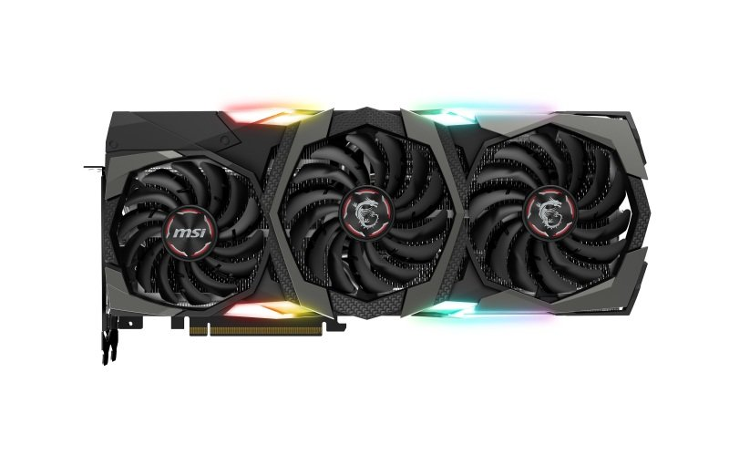 EXDISPLAY MSI GeForce RTX 2080 Ti GAMING X TRIO 11GB Graphics Card