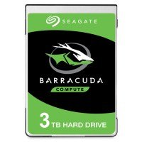 "Seagate BarraCuda 3TB Laptop Hard Drive 2.5"" 15mm SATA III 6GB's  5400RPM 128MB Cache"