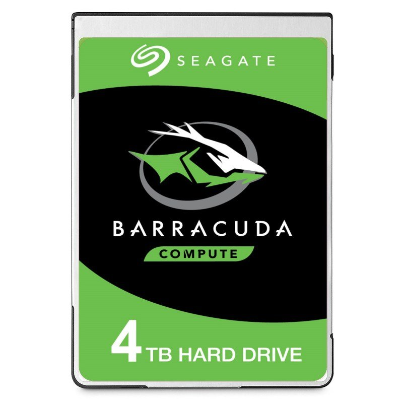 "Seagate BarraCuda 4TB Laptop Hard Drive 2.5"" 15mm SATA III 6GB's 5400RPM 128MB Cache"