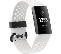 Fitbit Charge 3 Special Edition, Health and Fitness Tracker Frost White Fitness Band