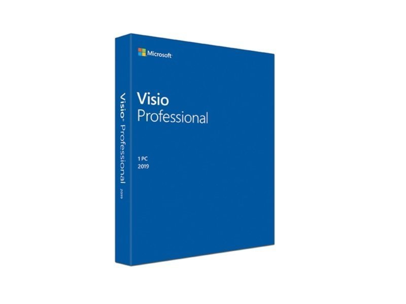 Microsoft Visio Professional 1 License Medialess