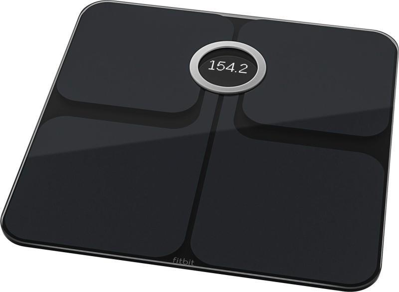 Fitbit Unisex Aria 2 Smart Scale, Onesize Black