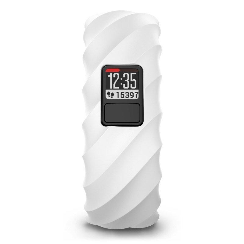 Garmin Vivofit 3 GPS Sculpted Fitness Activity Tracker Bangle - White wave Style Band