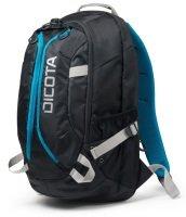 DICOTA Backpack Active 15.6 Laptop Bag Black/Blue