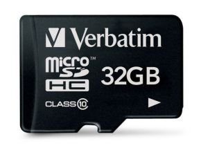 Verbatim 32GB MicroSDHC Card