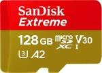 SanDisk Extreme 128GB microSDXC Memory Card + SD Adapter