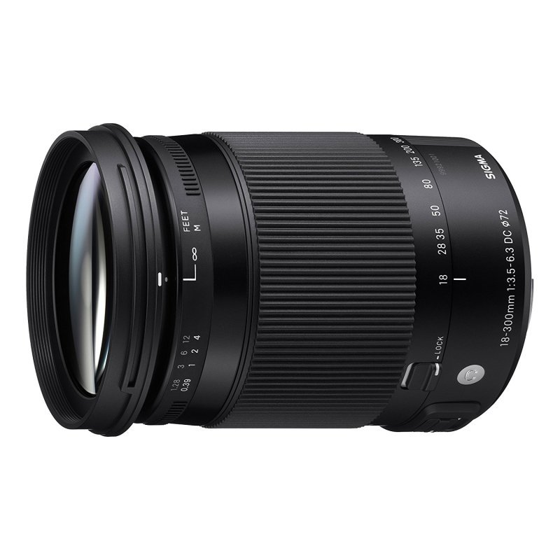 Sigma 18-300mm f/3.5-6.3 DC Macro HSM Contemporary Lens Canon Fit
