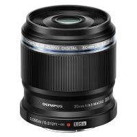Olympus M.Zuiko Digital ED 30mm 1:3.5 / EM-M3035 Macro Lens - Black