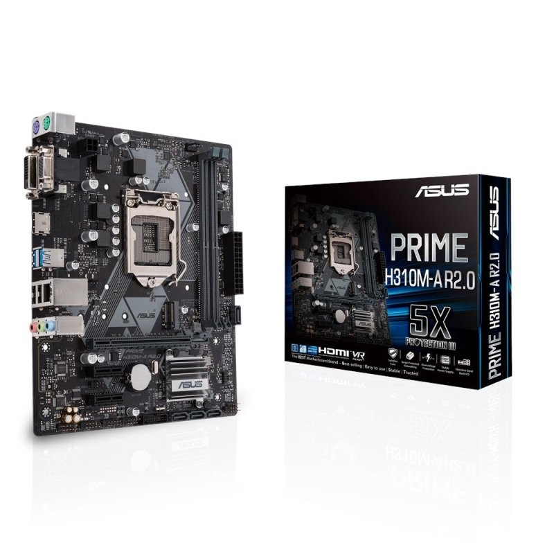 Asus PRIME H310M-A R2.0 LGA-1151 DDR4 mATX Motherboard