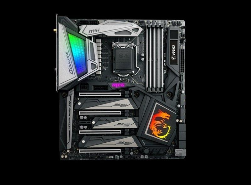 MSI MEG Z390 GODLIKE LGA 1151 DDR4 ATX Motherboard