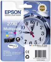 Epson Ink/27XL Alarm Clock Cyan, Magenta, Yellow Multi-pack - C13T27154022