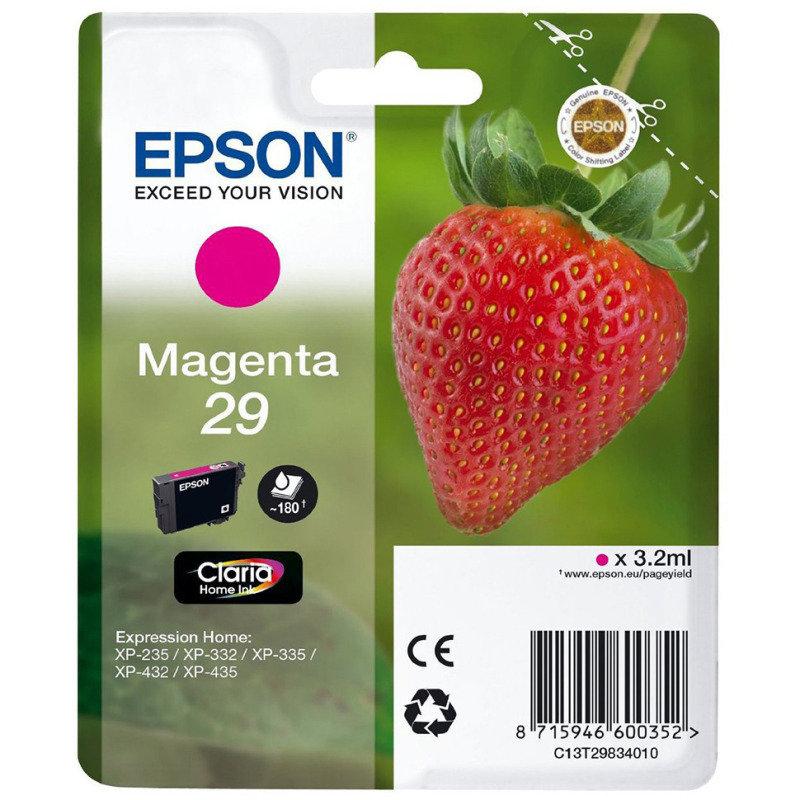 Epson Ink/29 Strawberry 3.2ml Magenta - C13T29834022