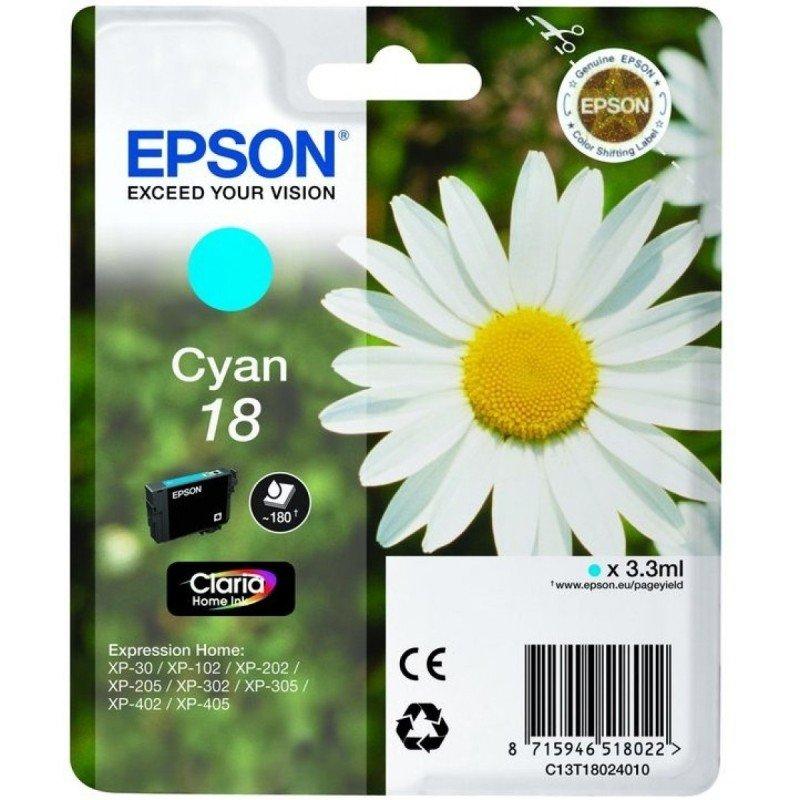 Epson Ink/18 Daisy 3.3ml Cyan - C13T18024022