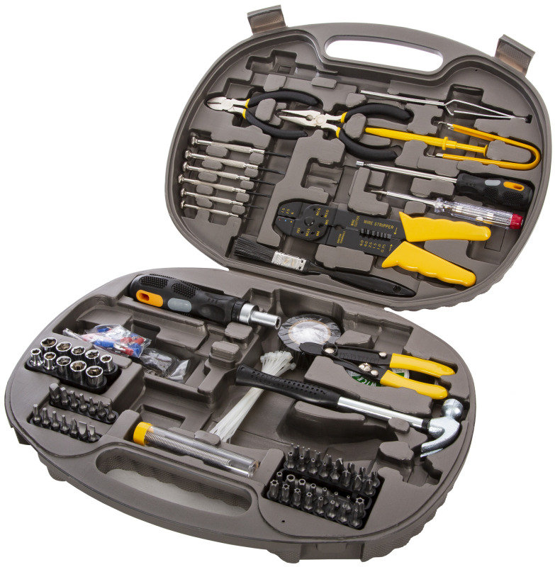 Xenta 140 Piece Computer Maintenance Tool Kit