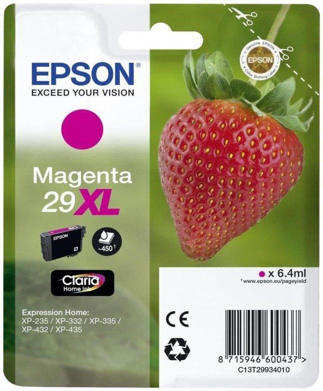 Epson Ink/29XL Strawberry 6.4ml Magenta - C13T29934022