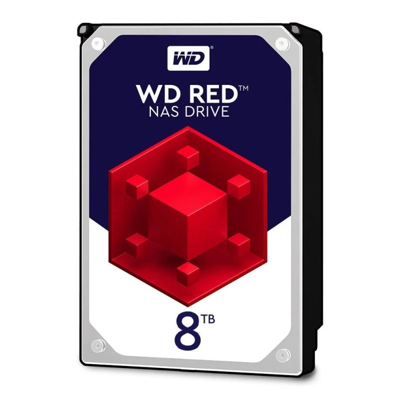 "WD Red 8TB 3.5"" SATA NAS Hard Drive"