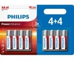 Philips AA Batteries 8 Pack