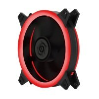 Contour EOS Double Ring Fan Kit (3 x 120mm RED Double Ring LED Fans)