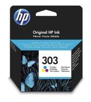 HP Ink 303 Tri-color Original Ink Cartridge - T6N01AE