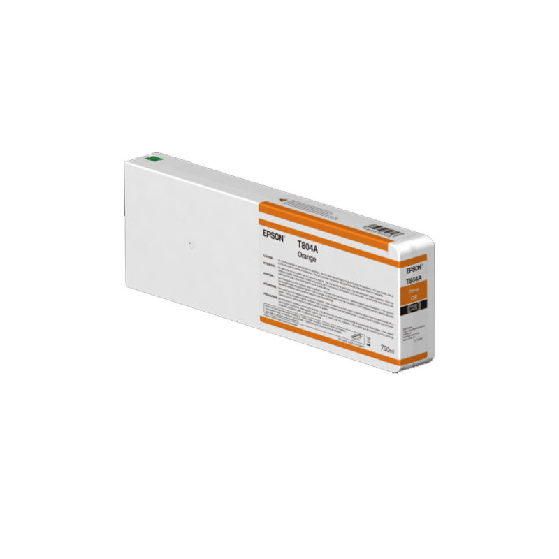 Epson InkCart/T804A00 UltraChrome 700ml Tank, Orange - C13T804A00