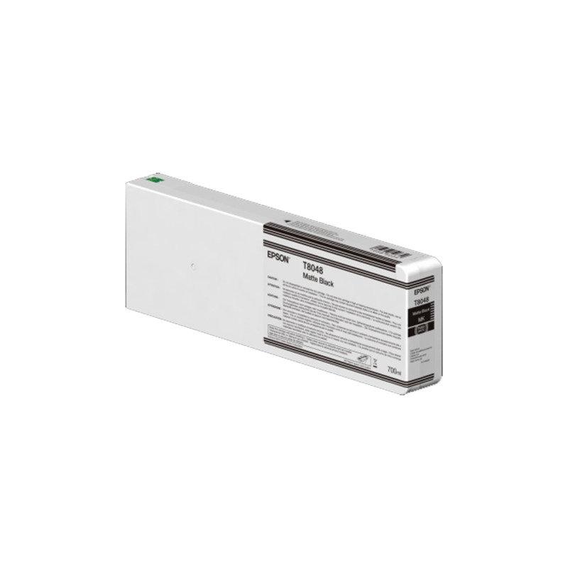 Epson InkCart/T804800 UltraChrome 700ml Tank, Matte Black - C13T804800
