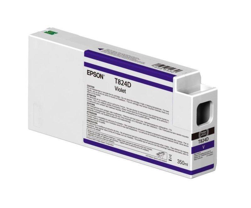 Epson InkCart/T824D00 UltraChrome 350ml Tank, Violet - C13T824D00