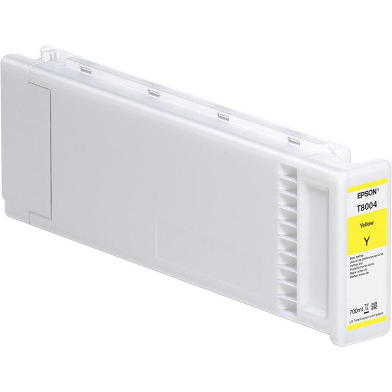Epson Ink Cart/T800400 UltraChromePRO 700ml Tank, Yellow - C13T800400