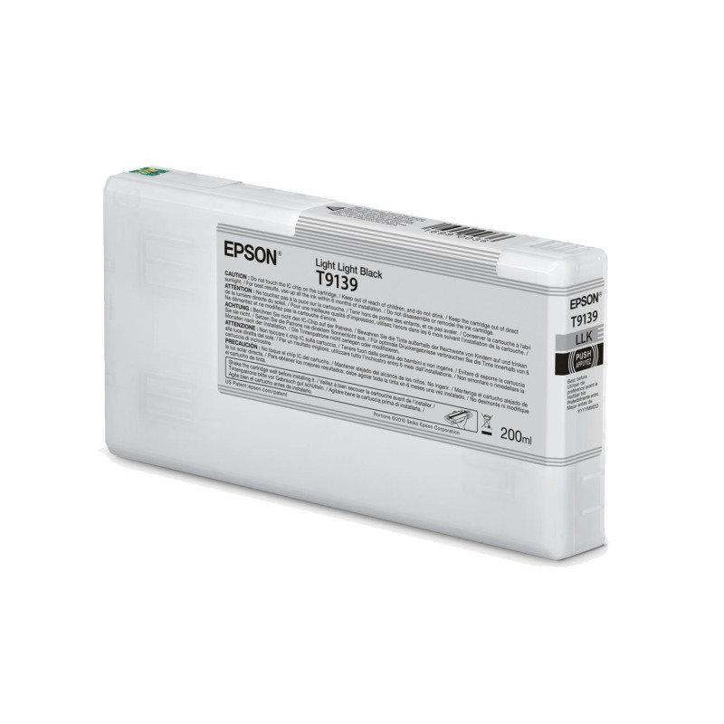 Epson Ink Cart/T9139 UltraChrome HDR 200ml Cartridge, Light Light Black - C13T913900