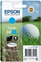 Epson Ink/34XL Golf Ball 16.3ml 1100 Page Yield,  Black - C13T34714010