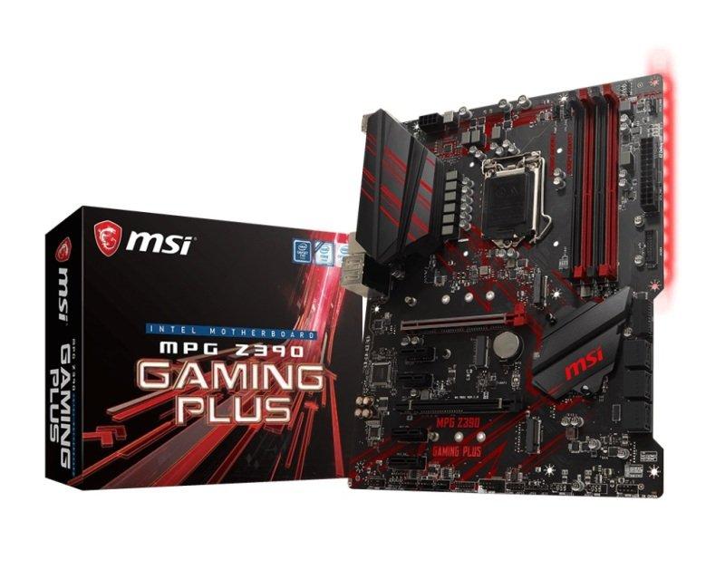 EXDISPLAY MSI MPG Z390 GAMING PLUS 1151 DDR4 ATX Motherboard