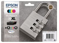 Epson Ink/35XL Padlock 1900 Page Yield, CMYK - C13T35964010