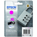 Epson Ink/35XL Padlock 20.3ml 1900 Page Yield, Magenta - C13T35934010
