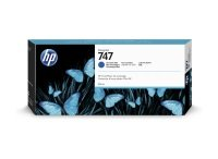HP 747 Chromatic Blue Original Designjet Ink Cartridge - Standard Yield 300ml - P2V85A