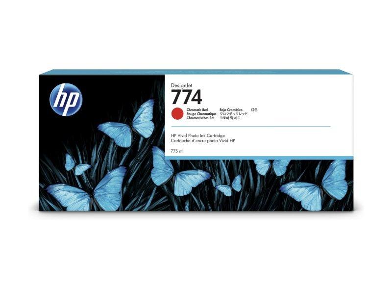 HP 774 775-ml Chromatic Red Ink Original - P2W02A