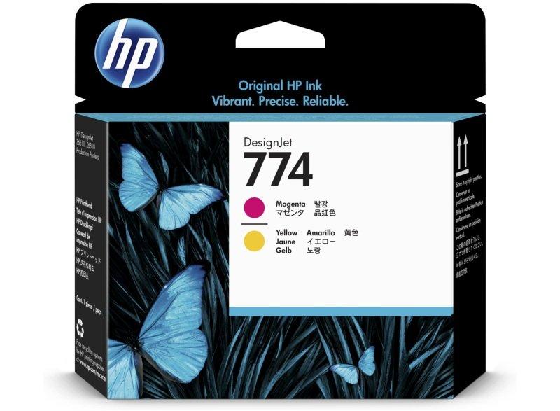 HP 774 Magenta/Yellow Printhead - P2V99A