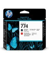 HP 774 Matte Black/Chromatic Red Print head - P2V97A