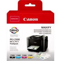 Canon Ink/PGI-2500 Cartridge Cyan, Magenta, Yellow, Black - 9290B004