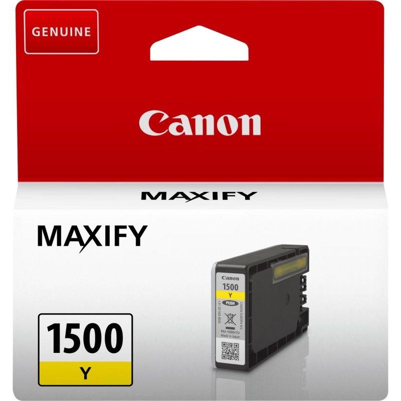 Canon Ink/PGI-1500 Cartridge Yellow - 9231B001