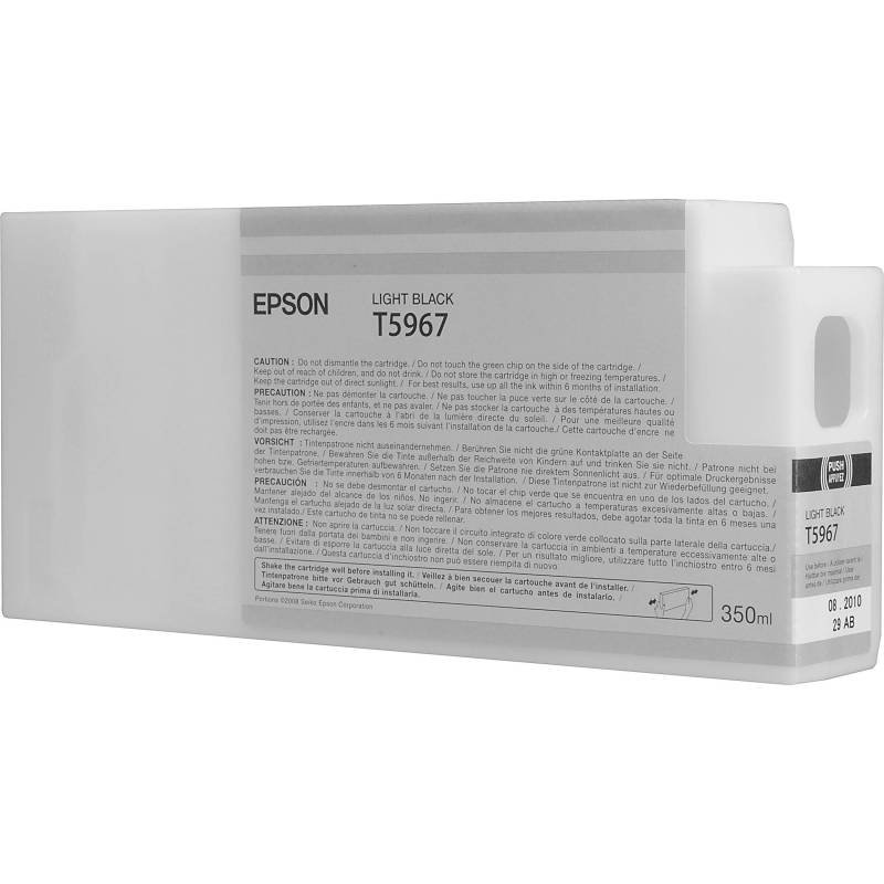 Epson InkCart/T804700 UltraChrome 700ml Tank, Light Black - C13T804700