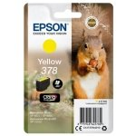 Epson Ink/378 Squirrel 4.6ml Cartridge, Yellow - C13T37844010