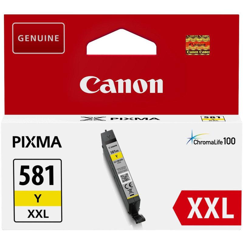 Canon Ink/CLI-581XXL Cartridge, Yellow - 1997C001