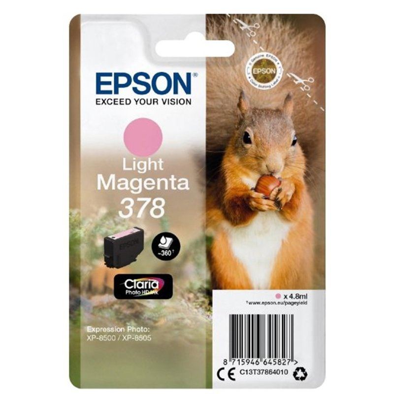 Epson 378 Light Magenta Ink Cartridge