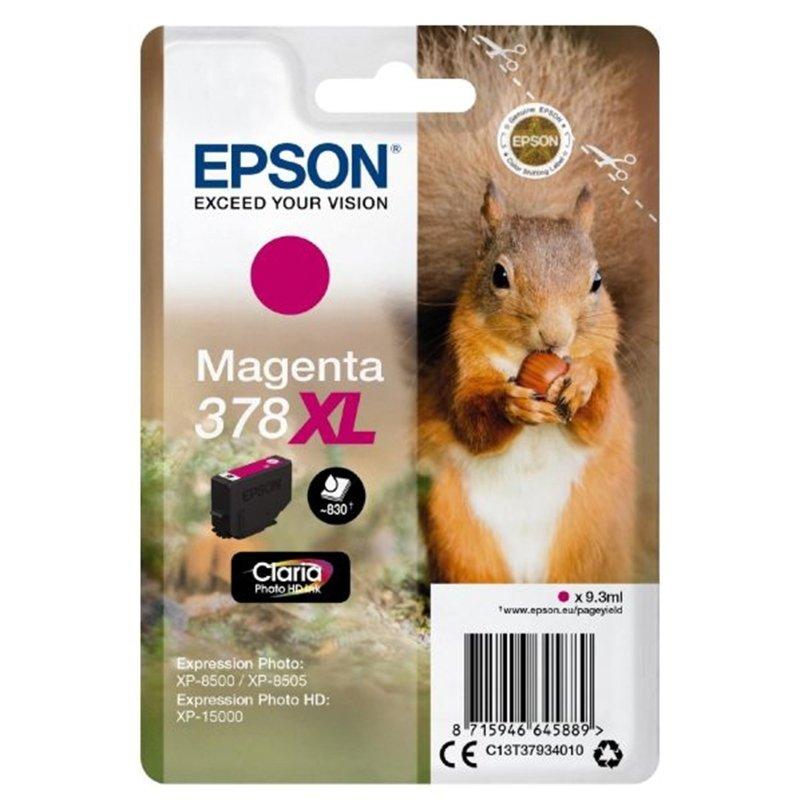 Canon Ink/378XL Squirrel 9.3ml Cartridge, Magenta - C13T37934010
