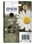 Epson Ink/18 Daisy 5.2ml Cartridge, Black - C13T18014012