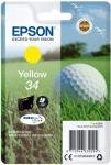 Epson Ink/34 Golf Ball 6.1ml Cartridge, Black - C13T34614010