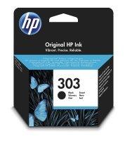 HP Ink/Original 303 Cartridge, Black - T6N02AE