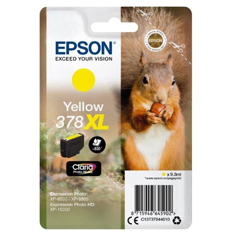 Epson 378XL Yellow Photo HD Inkjet Cartridge